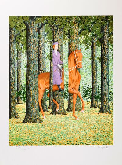 René Magritte, 'Le Blanc-Seing (The Blank Signature)', 2010