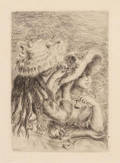 Pierre-Auguste Renoir, 'Le chapeau épinglé (Pinning the Hat)'