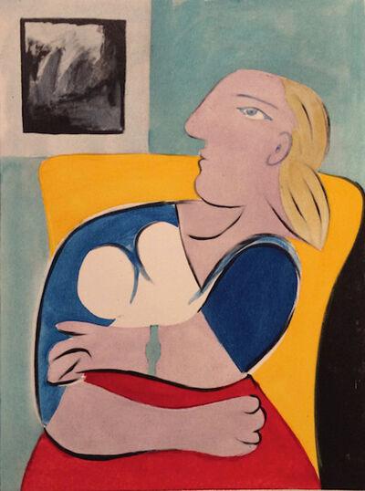 Pablo Picasso, 'Donna Nella Poltrona Gialla', 1955