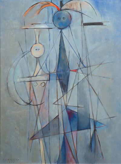 René Portocarrero, 'Figura en Azul', 1951
