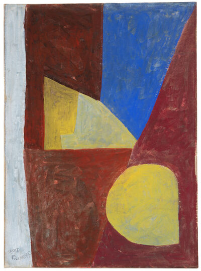 Serge Poliakoff, 'Composition abstraite (Red-Blue-Yellow)', 1954