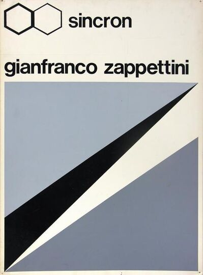 Gianfranco Zappettini, 'Bozzetto Sincron', 1971