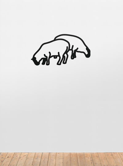 Julian Opie, 'Sheep 1.', 2015