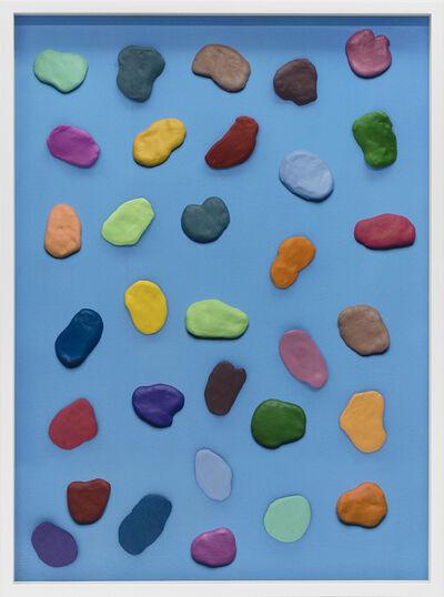 Vik Muniz, 'Primal forms (blue primordial soup ) ', 2017