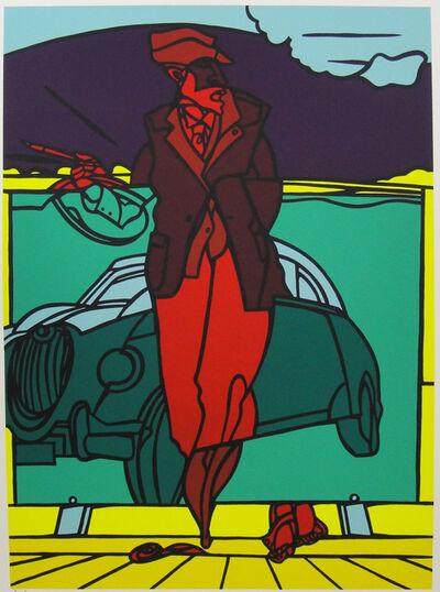 Valerio Adami, 'Untitled (The car)', 1996