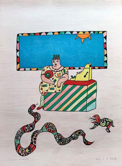 Niki de Saint Phalle, 'La caissière', 1995