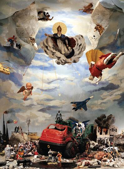 Norton Maza, 'La Caída del Orden, Serie Estudio para la Sinfonía del Poder', 2007