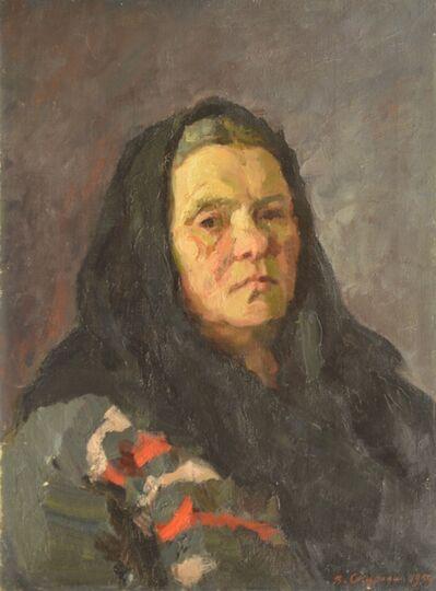 Valery Borisovich Skuridin, 'Fiokla Matveyena', 1959