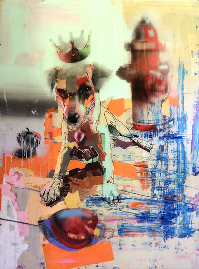 John Erickson, 'King Hydranted', 2014