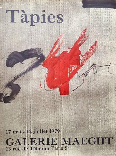 Antoni Tàpies, 'Expo 79', 1979