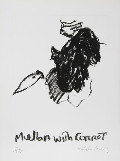 Malcolm Morley, 'Melba with Carrot', ca. 1980