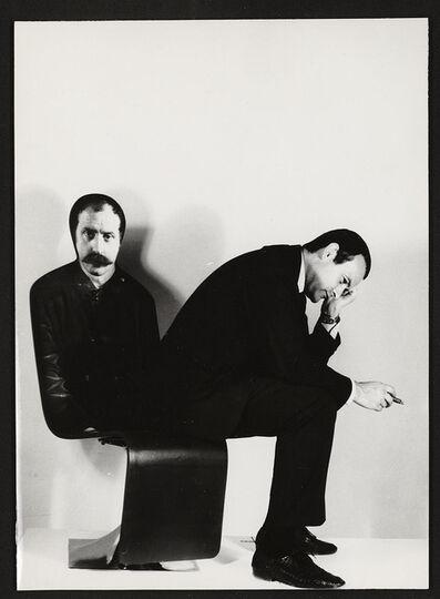 Roger Tallon, 'Siége-portrait (Portrait-Seat) of César, orly airport Christmas crib', 1967
