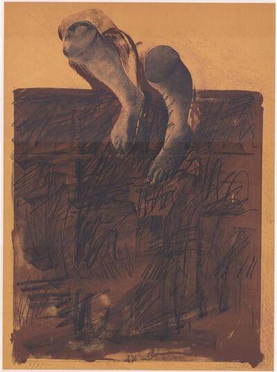 Rafael Canogar, 'Der Gehende', 1970-1980