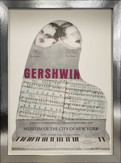 Larry Rivers, 'Gershwin, Museum of the City of New York', 1968