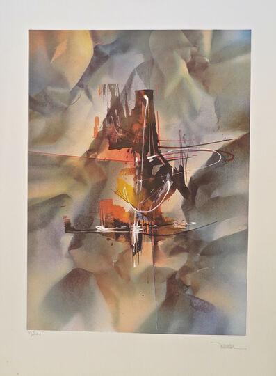 Leonardo Nierman, 'Bach from the Sound of Color portfolio', 1976