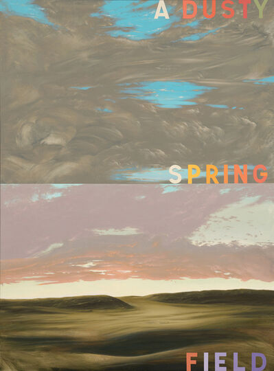 Charles Malzenski, ' A Dusty Spring Field', 2019