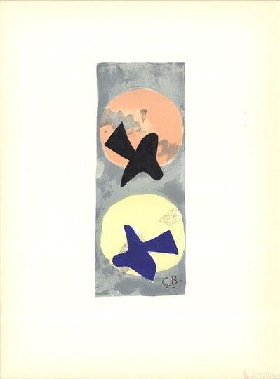 Georges Braque, 'Les Oiseaux IV', 1959