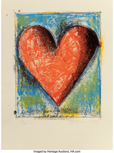 Jim Dine, 'Carnegie Hall Heart', 1986