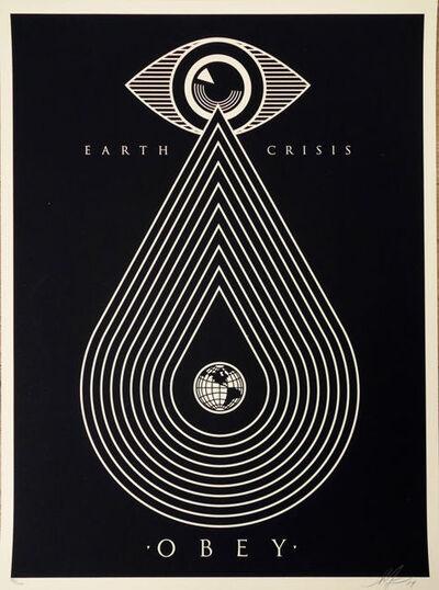 Shepard Fairey, 'Earth Crisis Black ', ca. 2017