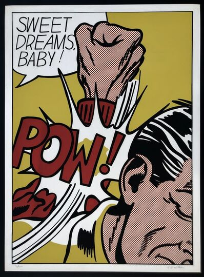 Roy Lichtenstein, 'Sweet Dreams Baby!', 1965