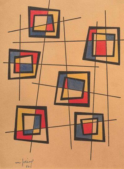 María Freire, 'Líneas enclavadas', 1956