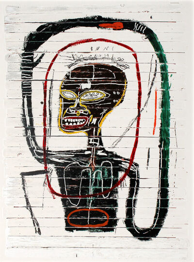 After Jean-Michel Basquiat, 'Flexible (1984/2016)', 2016