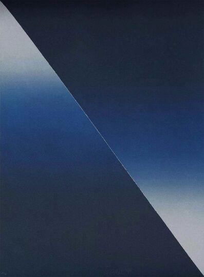 """Larry Bell, '""""Barcelona 4""""', 1989"""