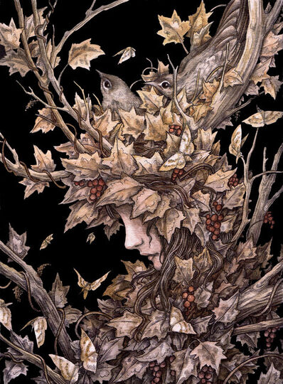Adam Oehlers, 'The Ivy Crown', 2018