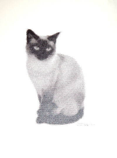 Patrick Lichty, 'RIC: Random Internet Cat #4', 2014