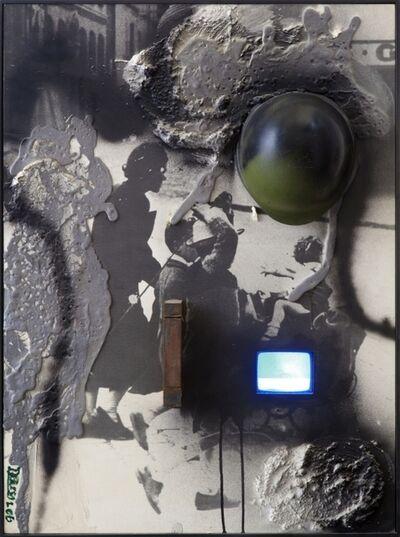 Wolf Vostell, 'La fine de la guerra n.4', 1990