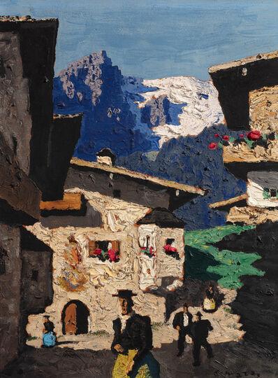 Alfons Walde, 'Sonntag in Tirol', 1935