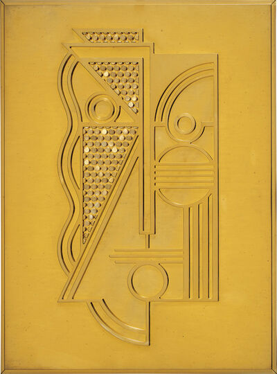 Roy Lichtenstein, 'Modern Head Relief', 1970