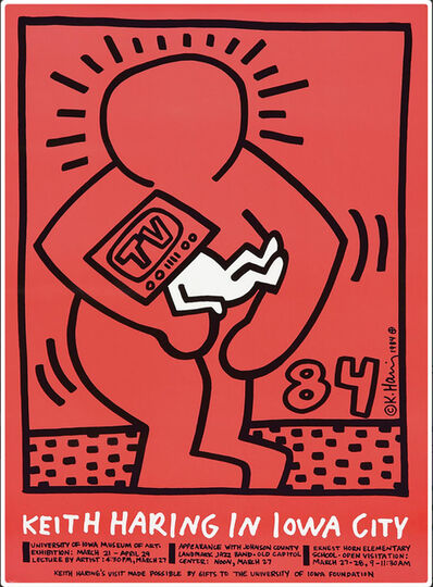 Keith Haring, 'Keith Haring in Iowa City ', 1984