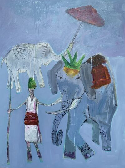 Robin Walker, 'Elephant Guide', 2020