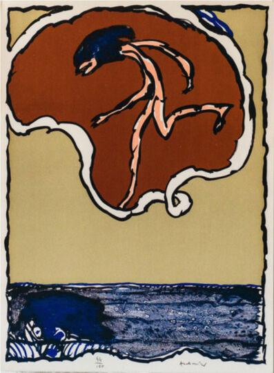 Pierre Alechinsky, 'Worldly Flying Object', 1978
