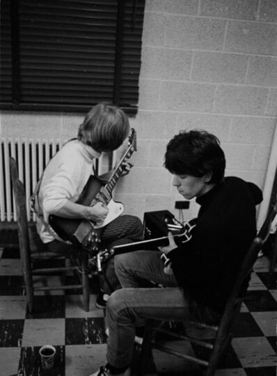 Gered Mankowitz, 'Keith Richards and Brian Jones, Tuning. Backstage USA', 1965