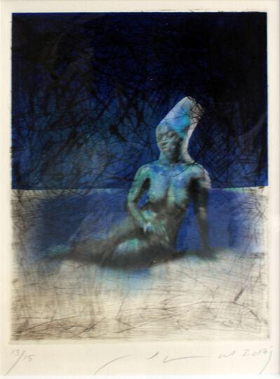 Jamal Abdul Rahim, 'Blue Human', 2017