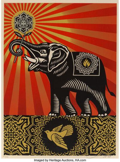 Shepard Fairey, 'Obey Elephant', 2009