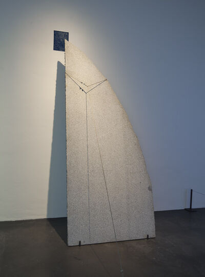Giovanni Anselmo, 'Ultramarine', 1984