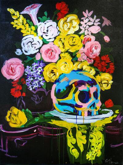 Bradley Theodore, 'Skull Flowers', 2017