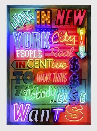 Chris Bracey, 'LIVING IN NEW YORK', 2014