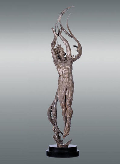 Matthew Snowden, 'M.L. Snowden Angstrom Bronze Sculpture Contemporary Art', 2007