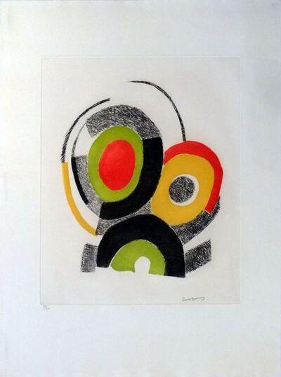 Sonia Delaunay, 'Les illuminations de Rimbaud ', ca. 1970