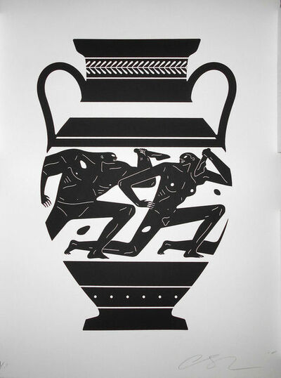 Cleon Peterson, 'End of Empire - Amphora', 2018