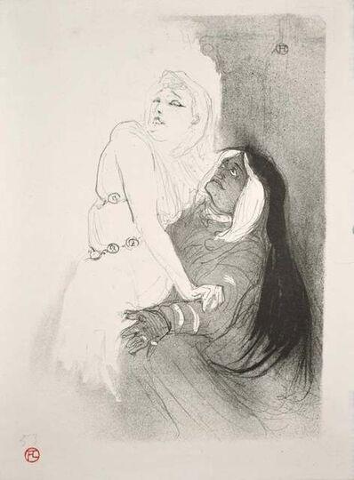 Henri de Toulouse-Lautrec, 'A la Renaissance: Sarah Bernhardt dans Phèdre', 1893