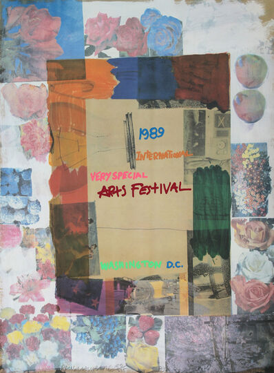Robert Rauschenberg, 'International Very Special Arts Festival, Washington D.C.', 1989