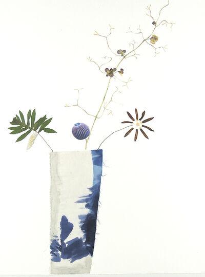 Marilla Palmer, 'Blue Cactus Violets ', 2017