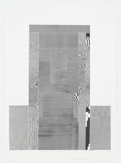 Thomas Bayrle, 'From A to B – Helke I', 1991