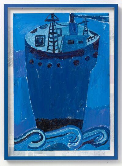Tal R, 'Tall ship', 2017