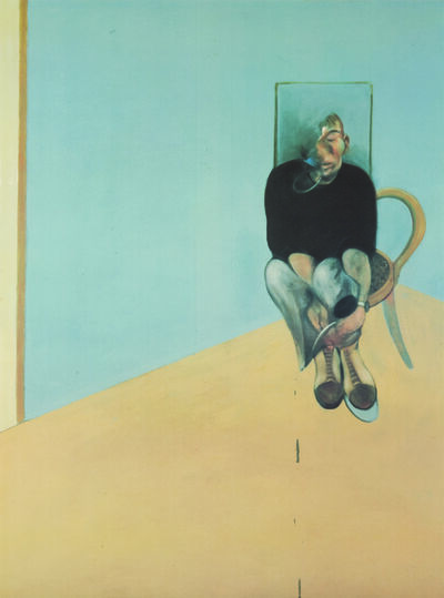 Francis Bacon, 'Study for Self Portrait 1982', 1984